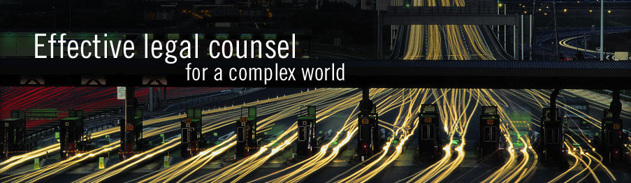 Effective legal counsel for a complex world